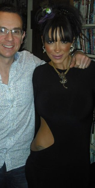 Image of Personal Trainer Tim Sharp and Jodie Marsh 30th December 2010
