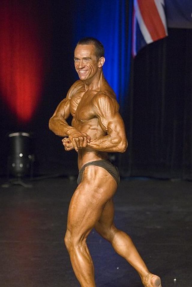 An image of Personal Trainer Tim Sharp goes here.