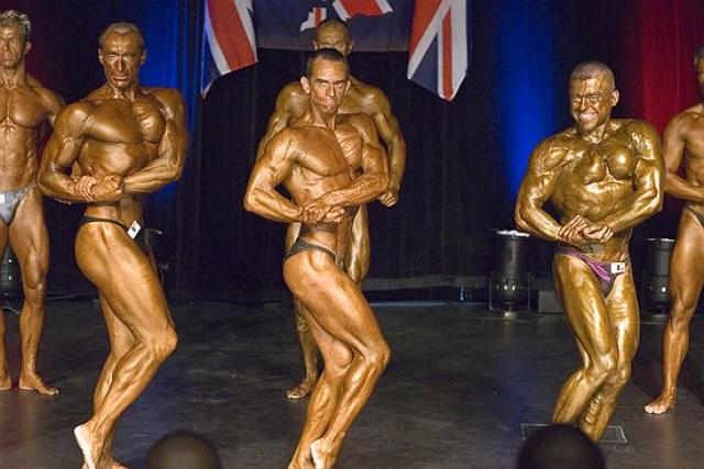 An image of Personal Trainer Tim Sharp 2007 me in Masters lines up goes here.