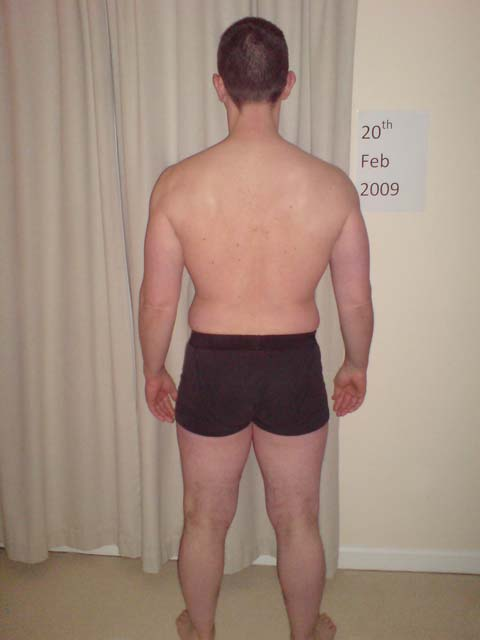 Image of Personal Trainer Tim Sharp February 2009 day 1 of diet! 28 lbs to lose let's do this