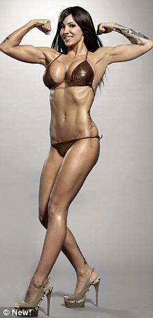 Image of Jodie Marsh trained by Personal Trainer Tim Sharp 2009