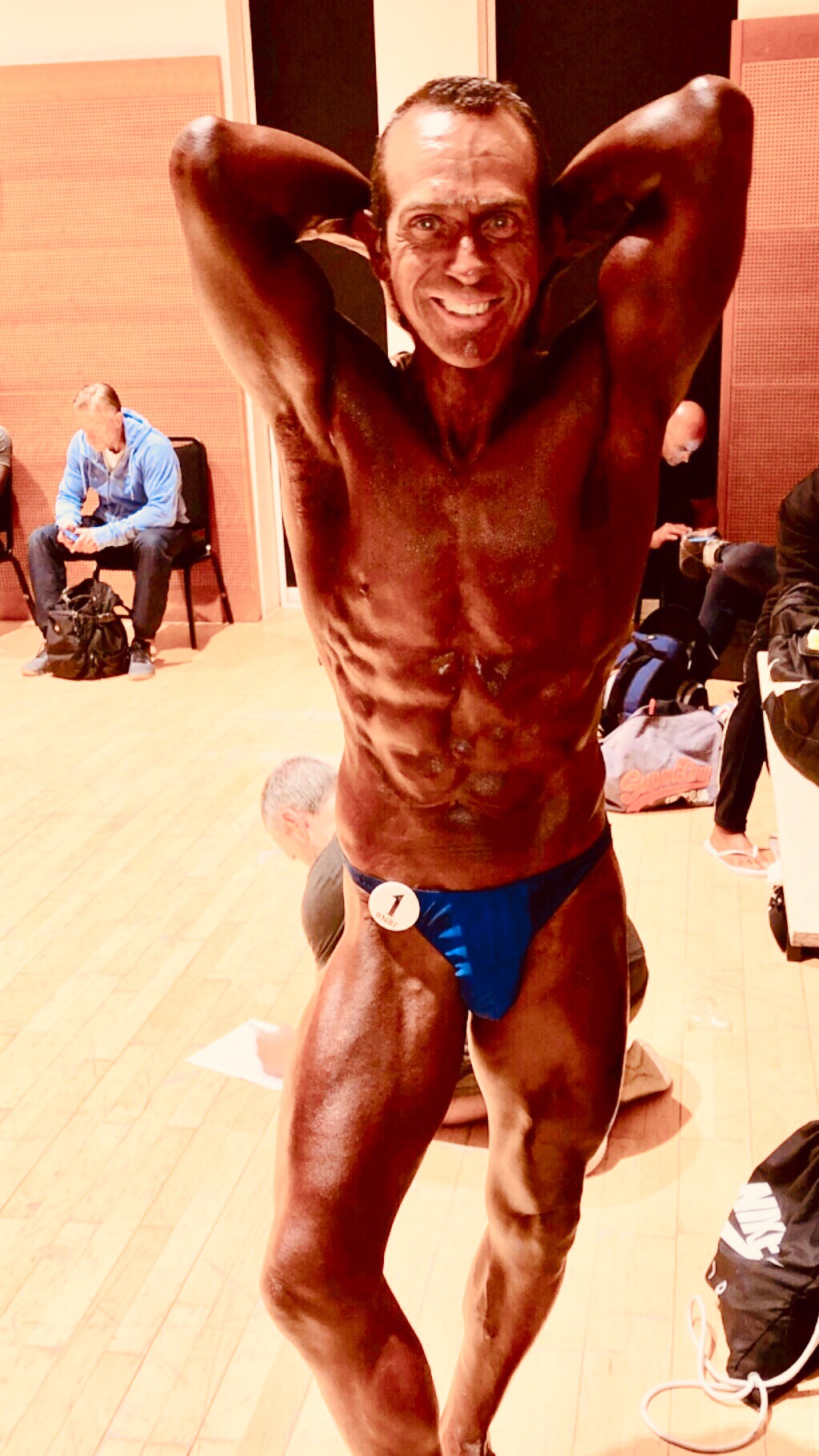image of Tim Sharp Places 10th Over 50 in the 2019 BNBF British