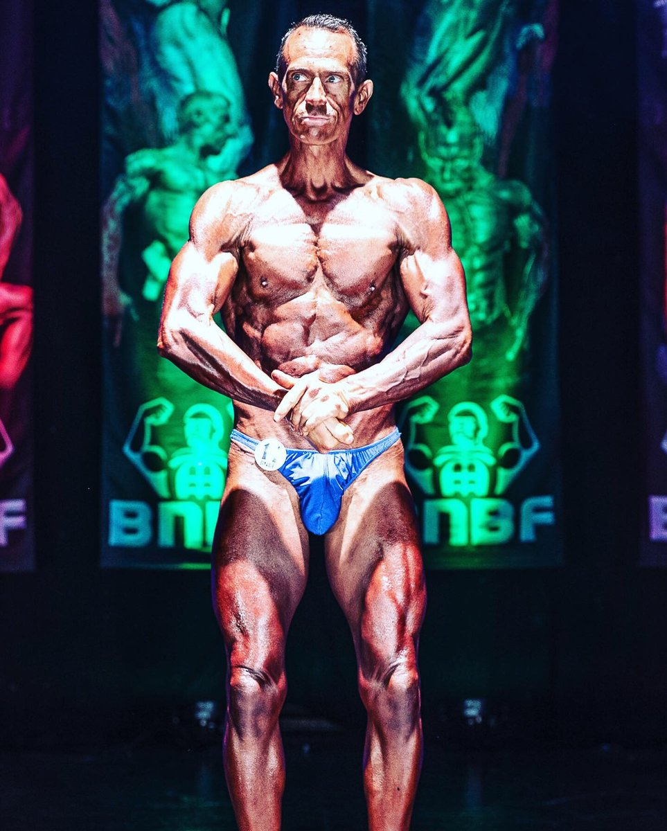 image showing Tim posing at the 2019 BNBF Welsh