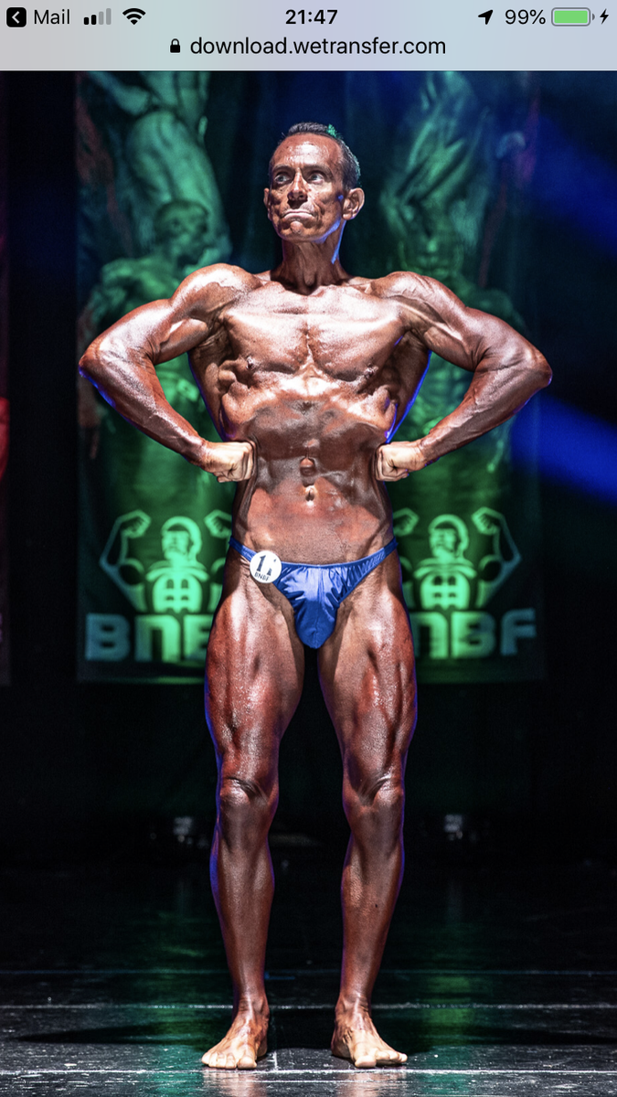 image of image: 11 of 46Tim posing at the 2019 BNBF Welsh