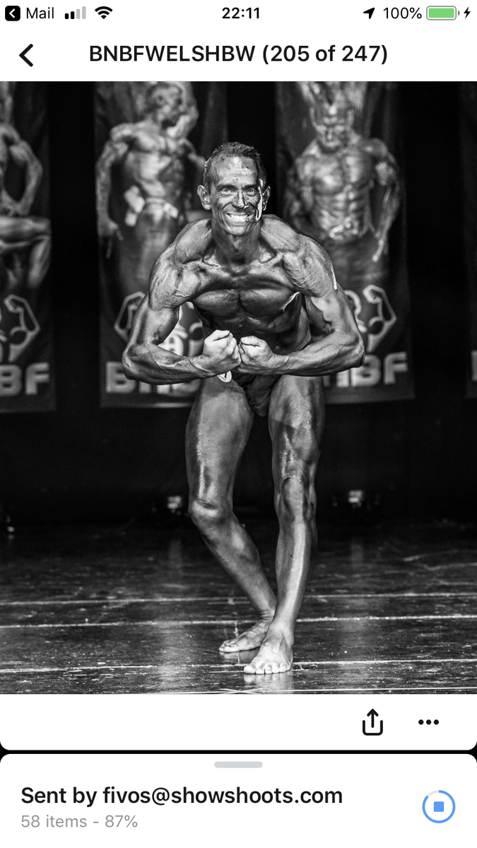 image of image: 19 of 46Tim posing at the 2019 BNBF Welsh
