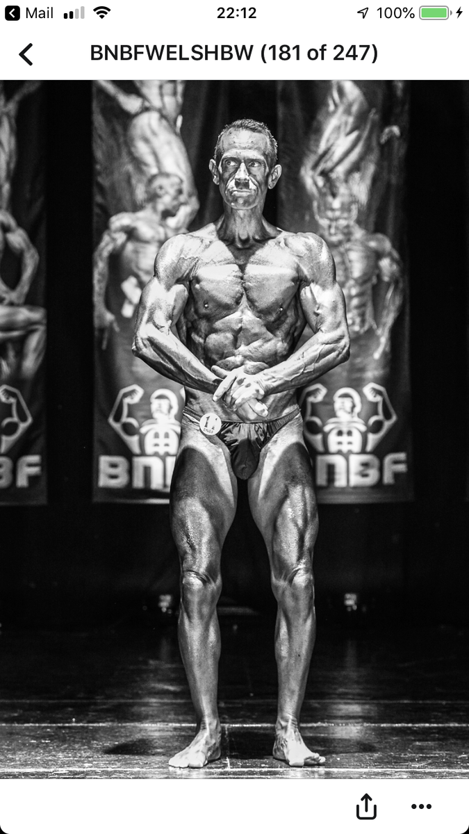 image of image: 20 of 46Tim posing at the 2019 BNBF Welsh