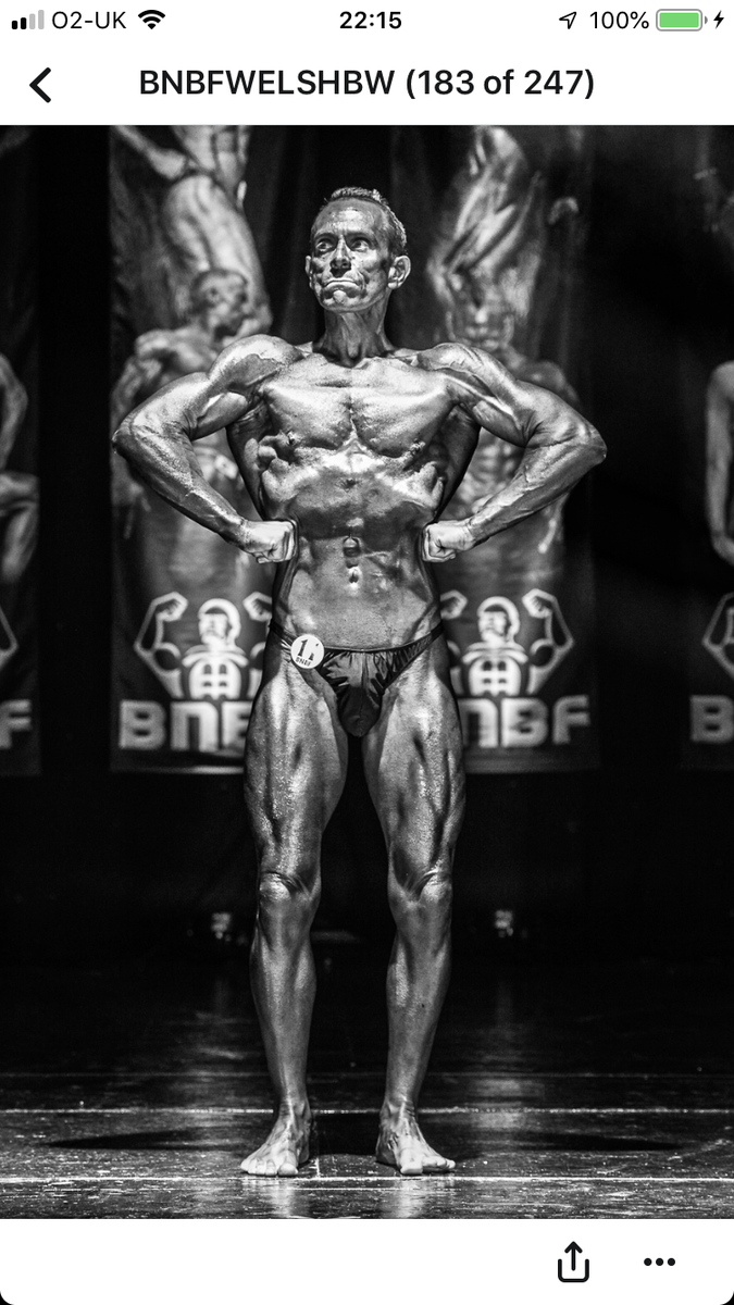 image of image: 26 of 46Tim posing at the 2019 BNBF Welsh