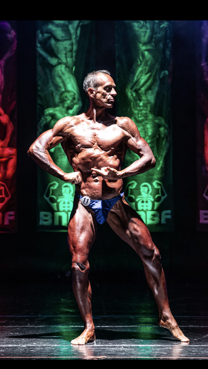 Image of Tim posing at the 2019 BNBF Welsh
