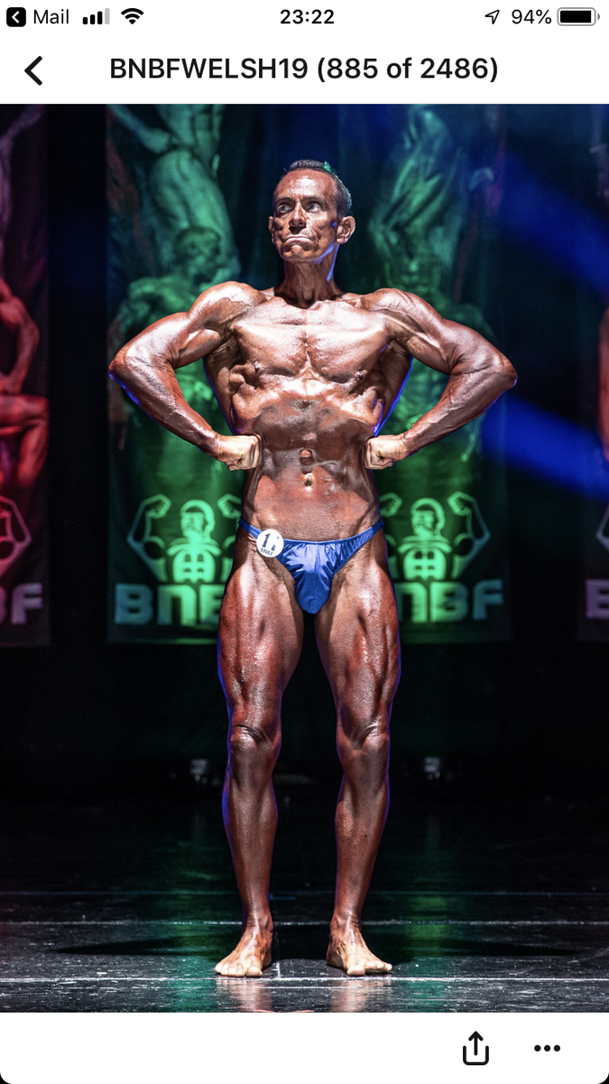 image of image: 38 of 46Tim posing at the 2019 BNBF Welsh