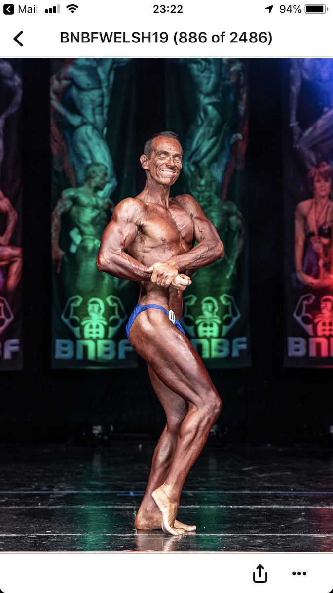 image of image: 40 of 46Tim posing at the 2019 BNBF Welsh