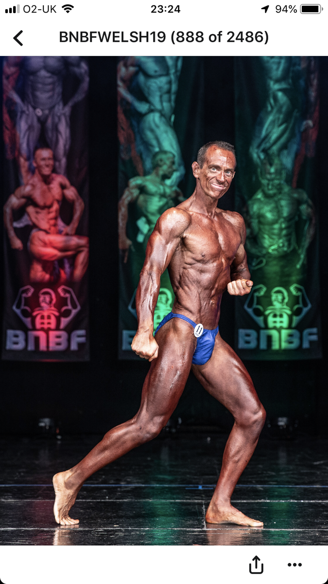 image of image: 45 of 46Tim posing at the 2019 BNBF Welsh