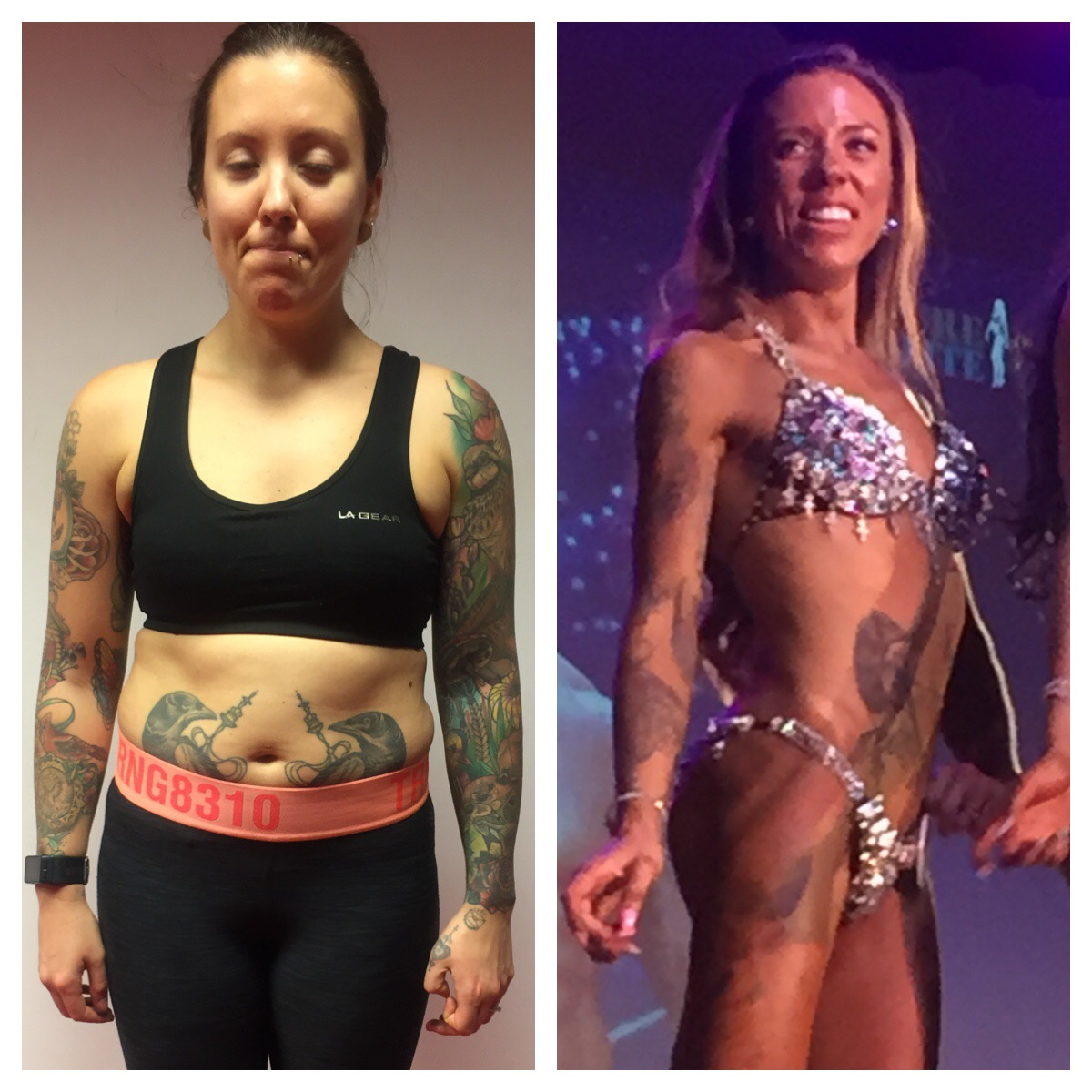 An image of Sharpbodies Personal Training Kayley's Transformation 2017 goes here.