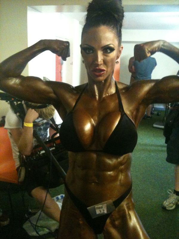 Image of Jodie Marsh, Bodybuilder Jodie Marsh Bodybuilder Trained by Tim Sharp Personal Trainer