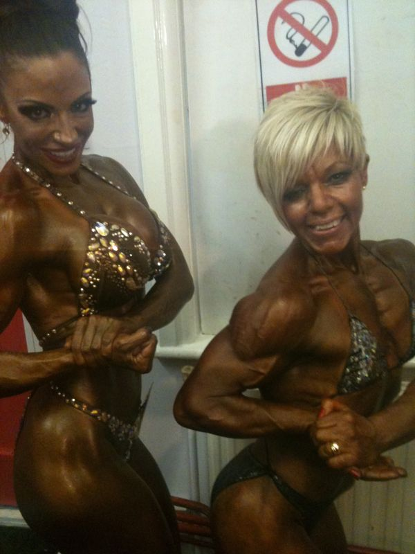image showing Jodie Marsh Bodybuilder 2011. Trained by Personal Trainer Tim Sharp