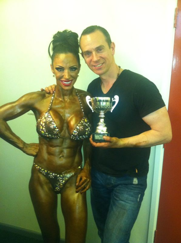 image of image: 8 of 126Jodie Marsh trained by Tim Sharp