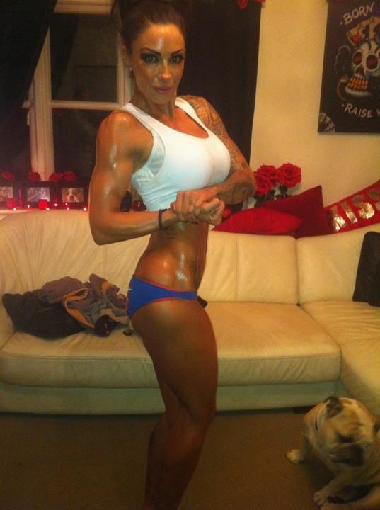 Image of Jodie Marsh, Bodybuilder