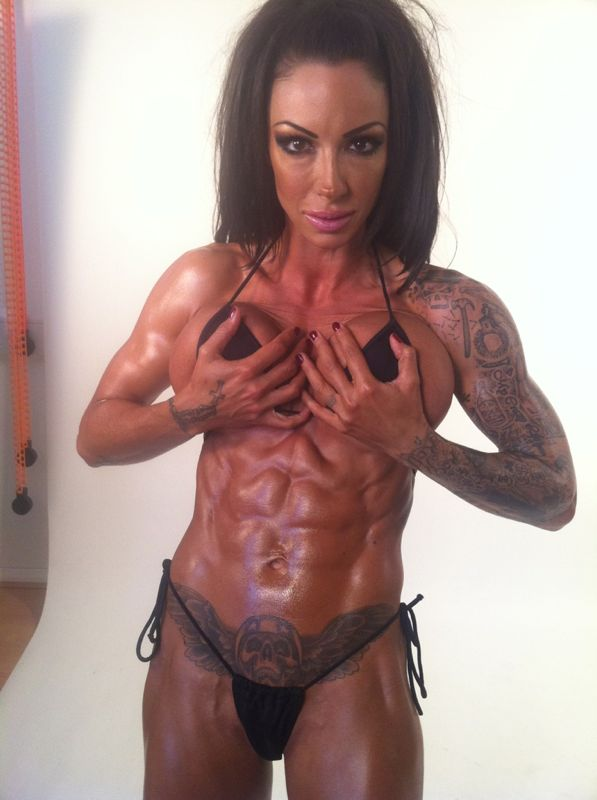Image of Jodie Marsh, Bodybuilder trained by Tim Sharp