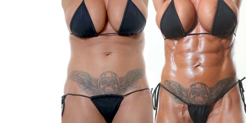 Image of Jodie Marsh 60 Day Diet Training Transformation 2011 with Tim