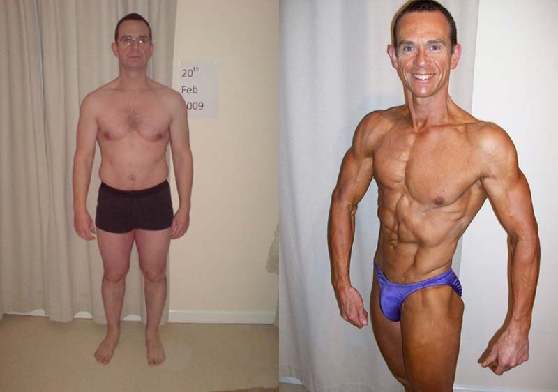 Image of Personal Trainer Tim Sharp 90 day results.
