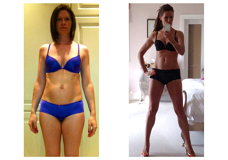 Image of Another happy client gets the body they want from Tim`s training and diet methods
