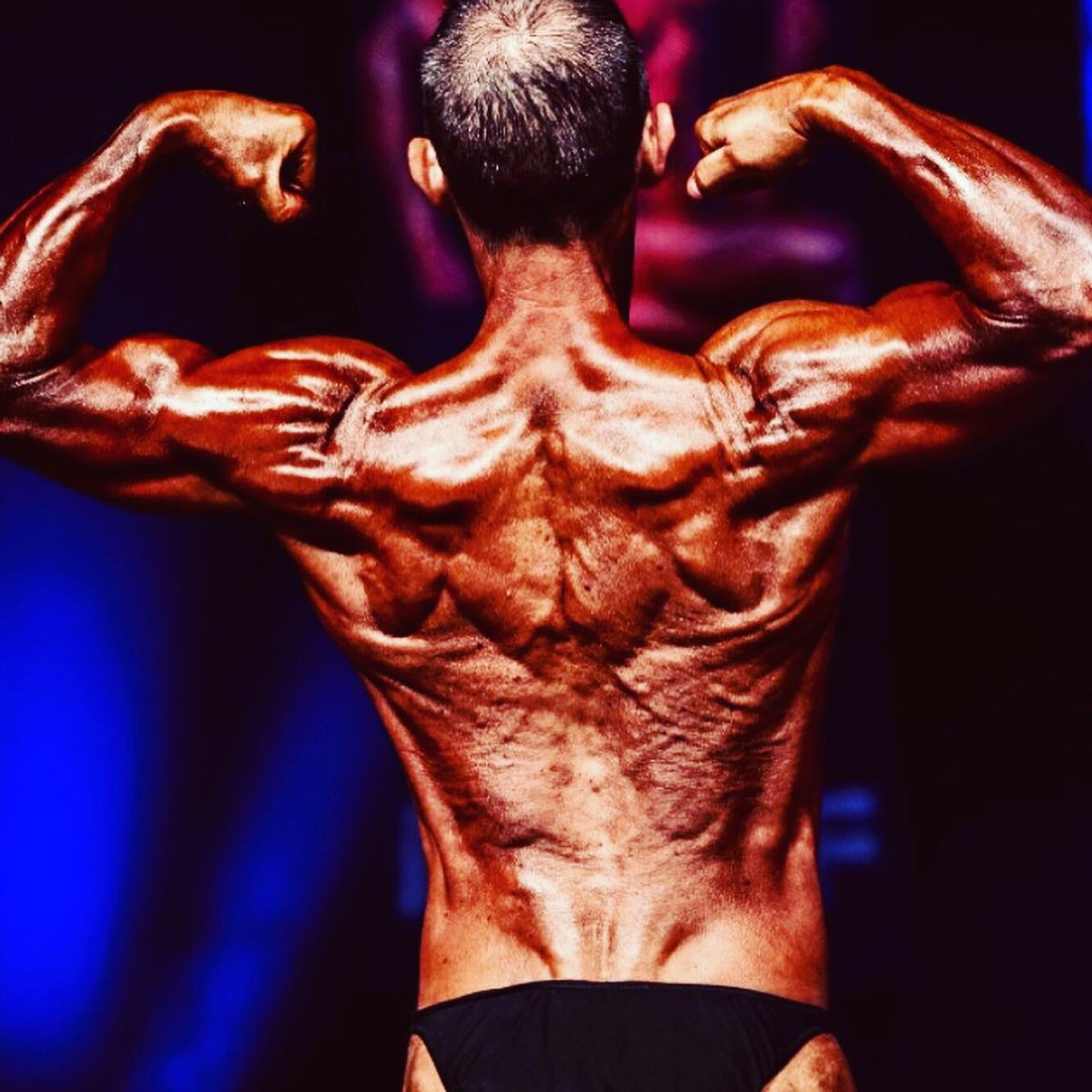 image of image: 28 of 32Tim poses at the 2019 BNBF Central Contest on his way to collect 3<sup>rd</sup> spot in the Over 50s category.