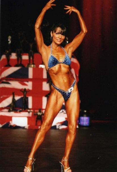 An image of Debbie Francis Figure Athlete goes here.