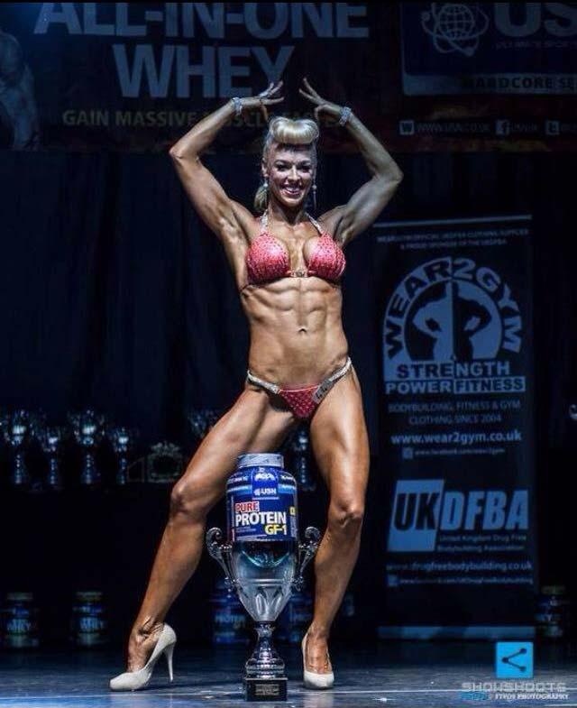image showing Hayley Steele United Kingdom UKDFBA Amateur Fit Body Champion 2014