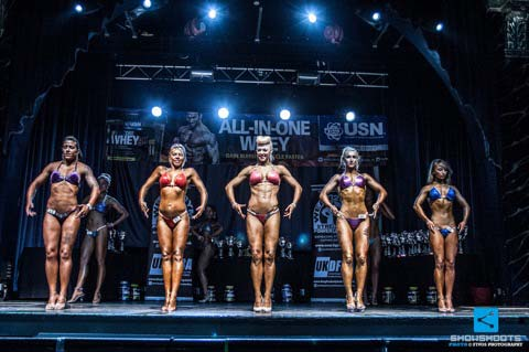 image showing Hayley Steele United Kingdom UKDFBA Amateur Fit Body Champion 2014