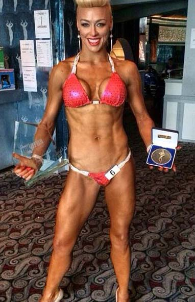 Image of Hayley Steele United Kingdom UKDFBA Amateur Fit Body Champion