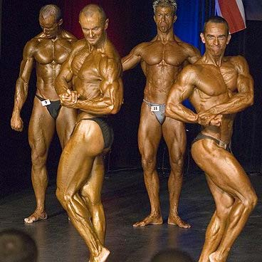 Tim Sharp in Competition: Here's me onstage in competition. I compete in the drug tested BNBF in the UK