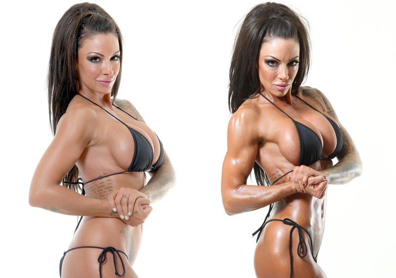 Image of Jodie Marsh incredible 60 day results With Personal Trainer Tim Sharp