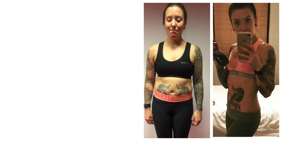 Image of This female bodybuilder from Brentwood, Essex achieved a fantastic transformation in just ten months