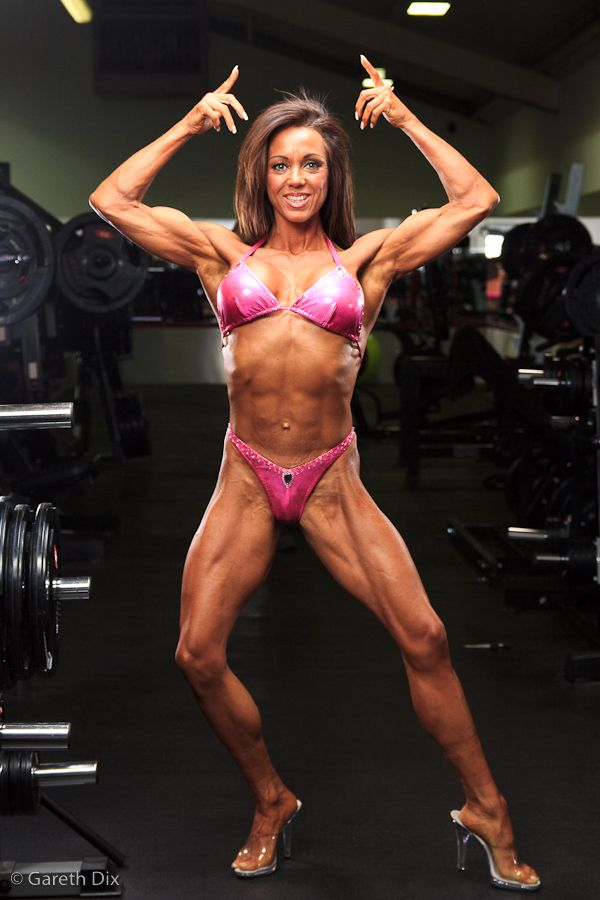Image of Rachel Posing In Gym 013