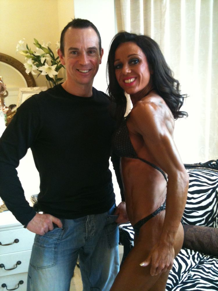 Image of Rachel morning of Nabba south east. Her first show may 2012