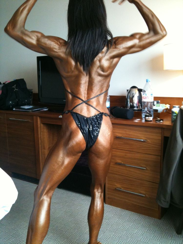 Image of Rachel Turner morning of Nabba Britain June 2012