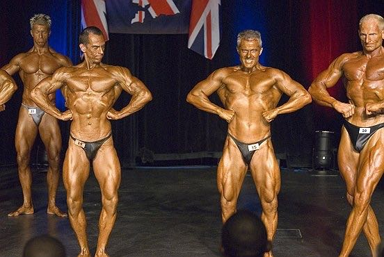 image showing Personal Trainer Tim Sharp 2007 BNBF British Championships Masters Class 4th Place