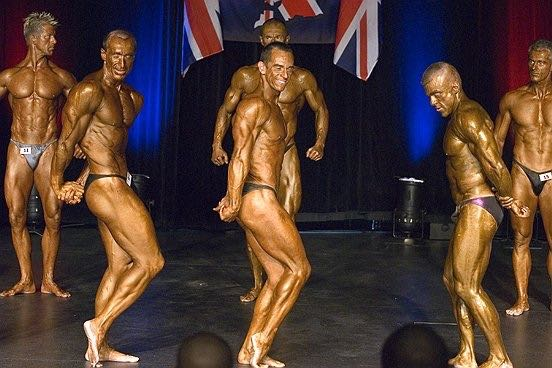Image of Tim Sharp 2007 BNBF British Championships Masters Class 4th Place