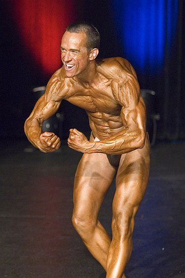 Image of Personal Trainer Tim Sharp 2007 British Championships